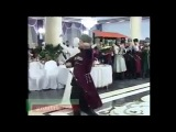 Рамзан Кадыров и Амина Ахмадова-танец