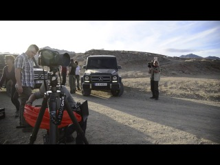 Making of Shooting G-Class G63 and G500 in Africa